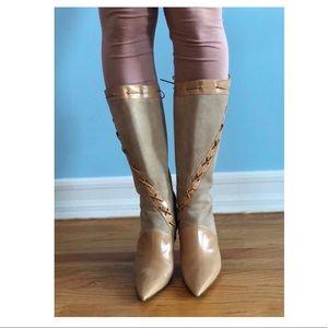 Jimmy Choo Camel Boots Size 36